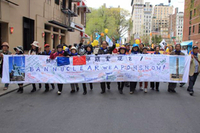 Peace&Planet Demo in New York am 26. April 2015. Foto: ICAN Germany
